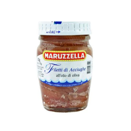 Anchovy Fillets in Oil, Maruzzella, 80g