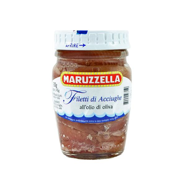 Anchovy Fillets In Olive Oil, Maruzzella, 80g