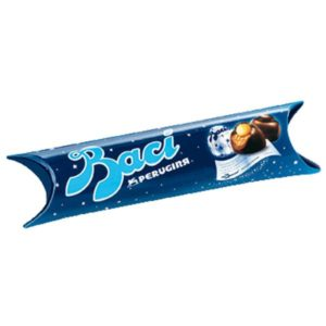 Baci Tube, Perugina 3 Pieces, 43g