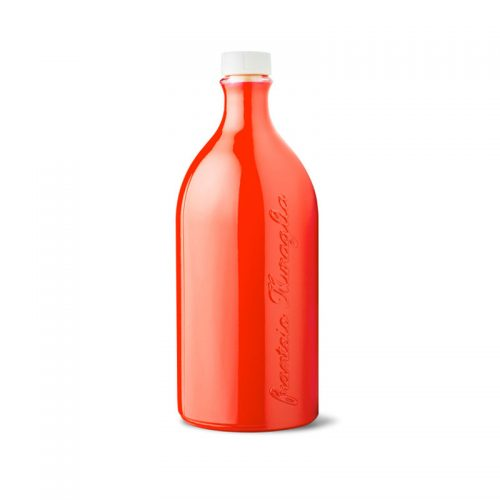 Frantoio Muraglia Extar Virgin Olive Oil Terracotta (red glass)