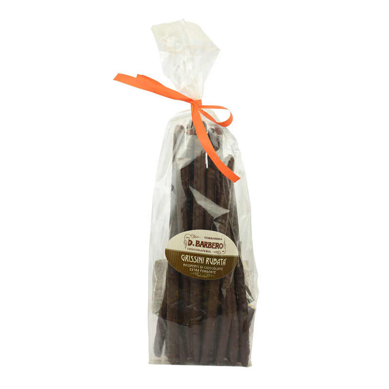 Grissini covered in Chocolate, D. Barbero, 300g