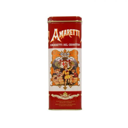 Del Chiostro Hard Amaretti Tower Tin